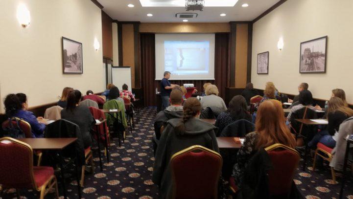 """На 19.04. в хотел Черно море се проведе обучение на тема """"Новите правила за личните данни"""""""