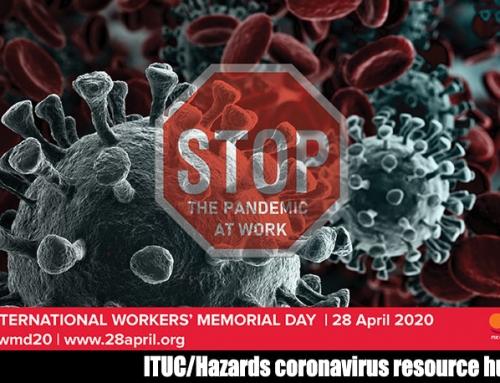 Световният ден на безопасност и здраве при работа за 2020 г. с призив за ответни мерки срещу пандемията от СOVID-19