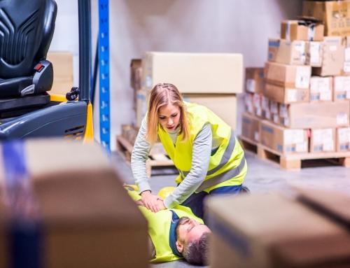 Обучение за оказване на Първа долекарска помощ при увреждане на здравето при работа